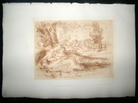 A. Dawson after Titian 1885 Photogravure. Virgin and Child